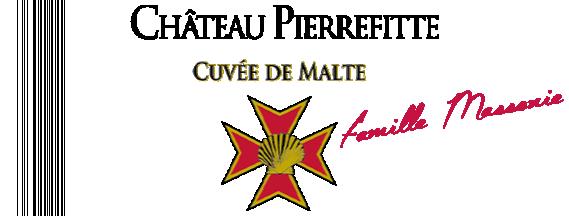 visuel Château Pierrefitte Cuvée de Malte