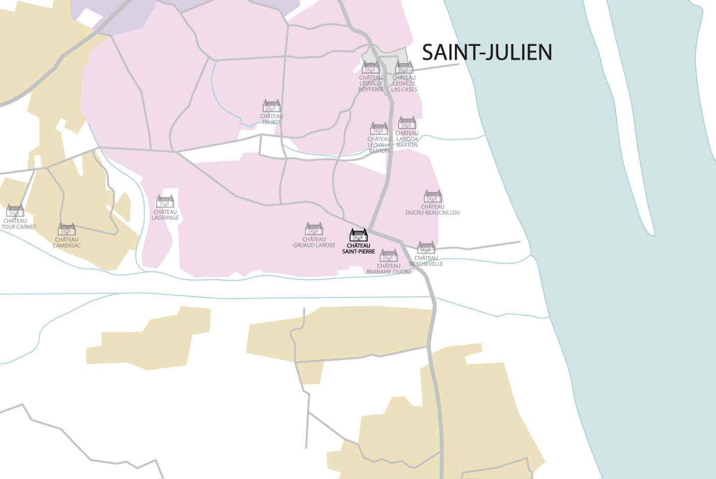 Carte Château Saint-Pierre