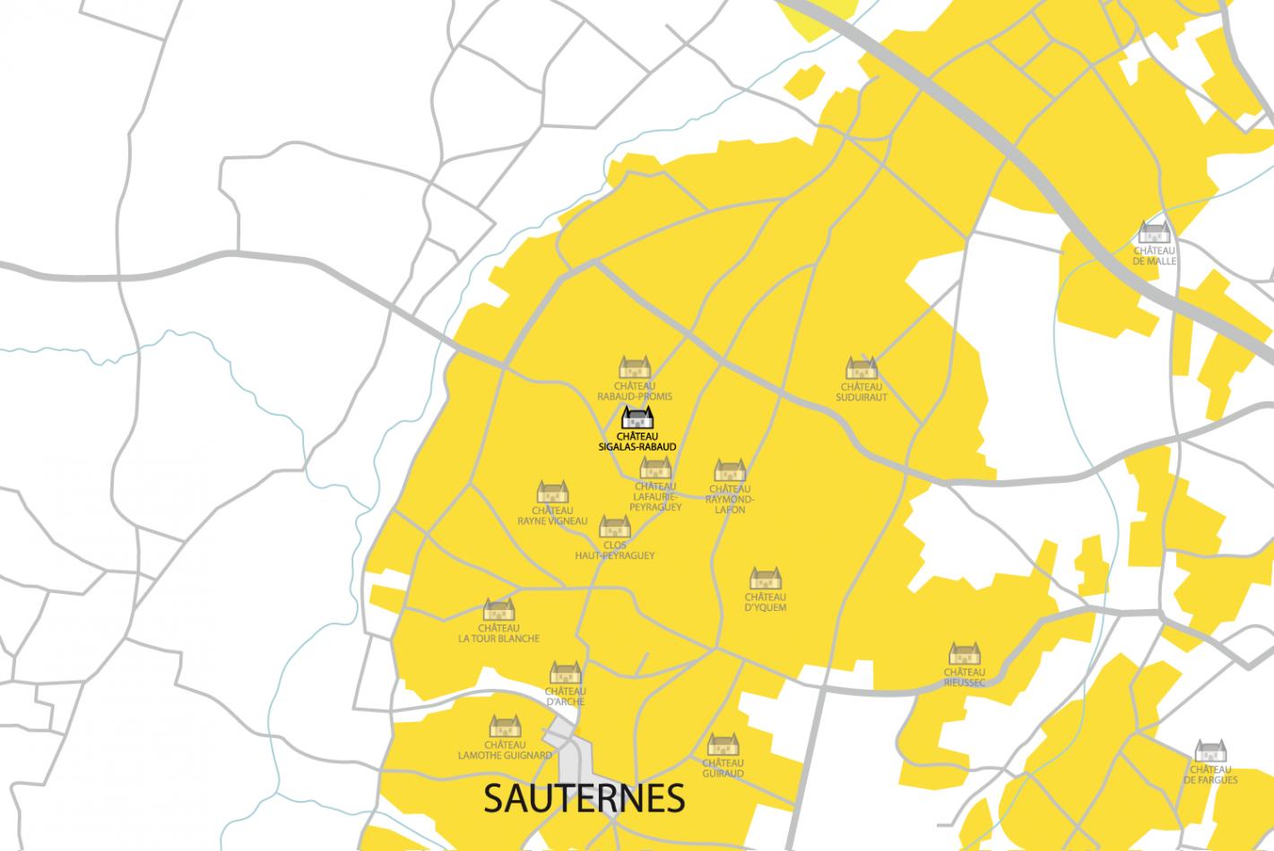 Carte Château Sigalas-Rabaud