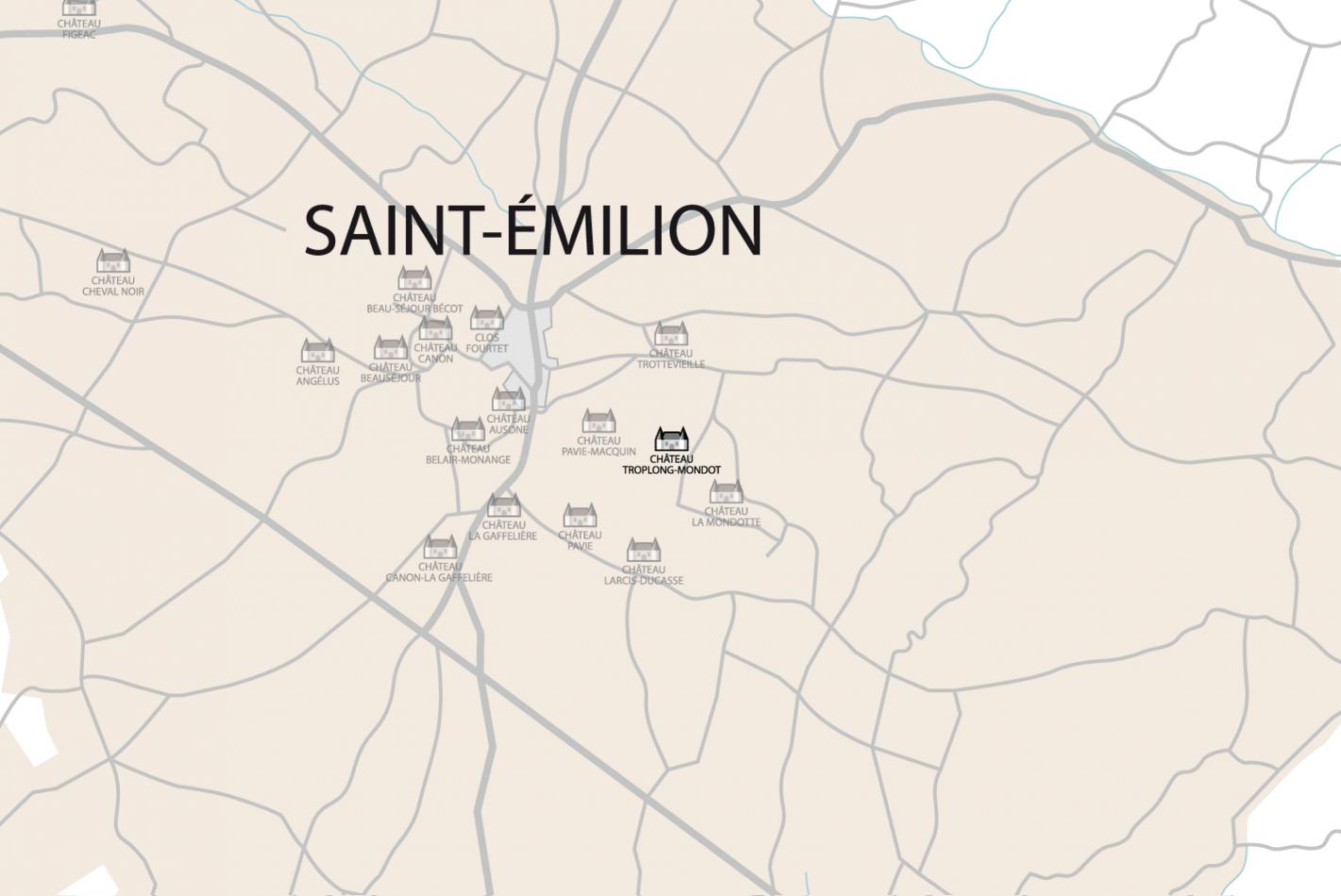 Carte Château Troplong-Mondot