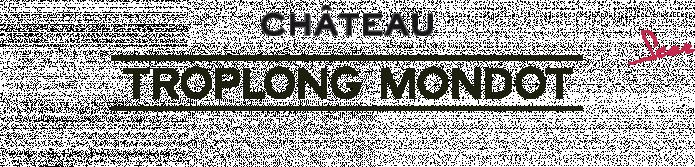 visuel Château Troplong-Mondot