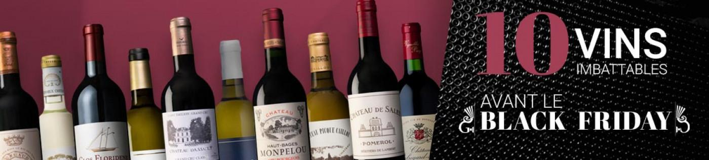 10 vins à prix imbattable