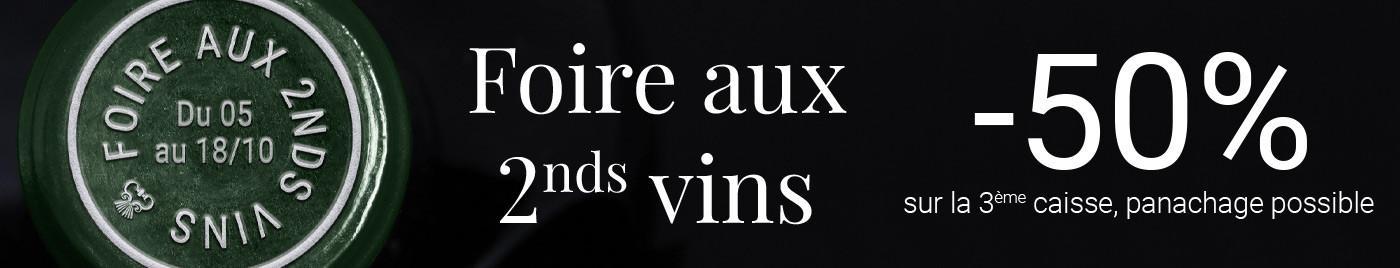 Foire aux 2nds vins : -50% sur la 3ème caisse