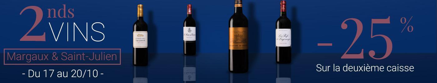 2nds vins - Margaux & Saint-Julien