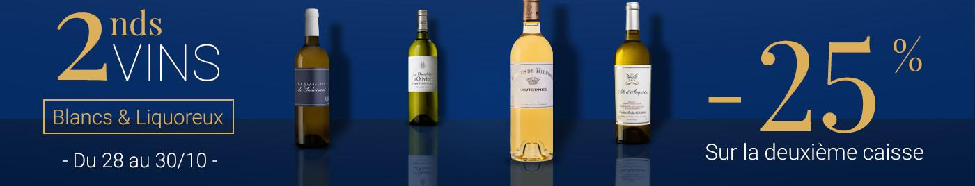 2nds vins - Vins Blancs et Liquoreux