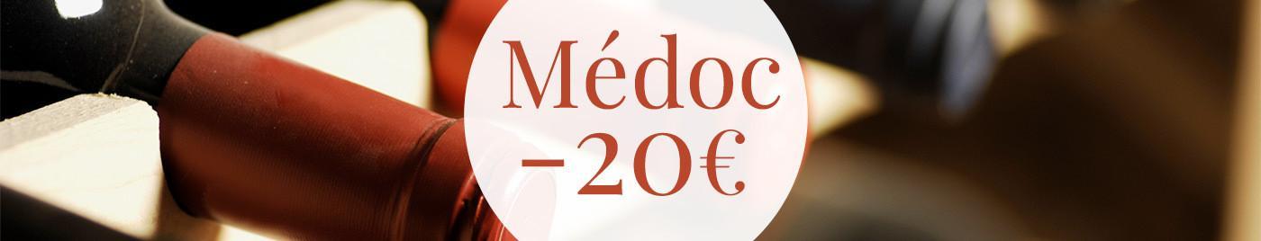 5 Médoc à - de 20€