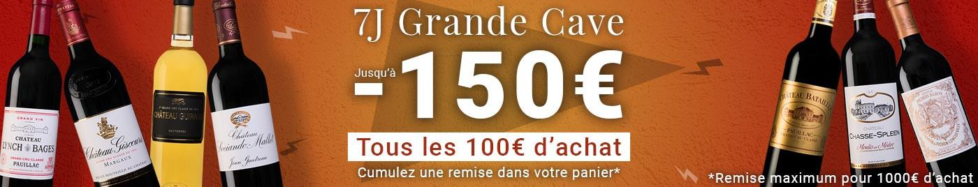 7J  Grande Cave : Les + grosses remises