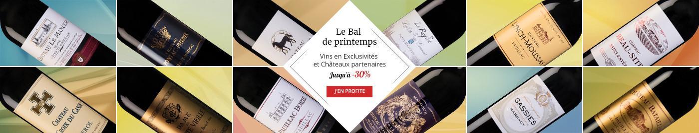 Bal de Printemps - Exclusivités & Châteaux Partenaires