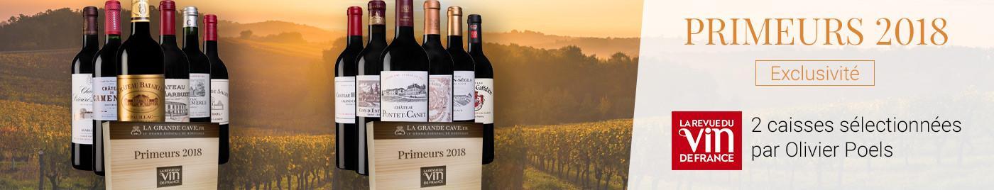 Bordeaux Primeurs 2018 : les caisses de La Revue du Vin de France