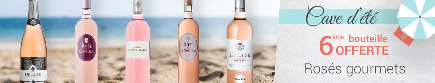 Bordeaux rosés de gourmets = 6ème bouteille OFFERTE