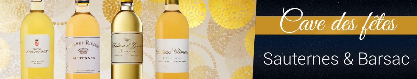 Cave des Fêtes 2020 : Vins liquoreux de Sauternes & Barsac