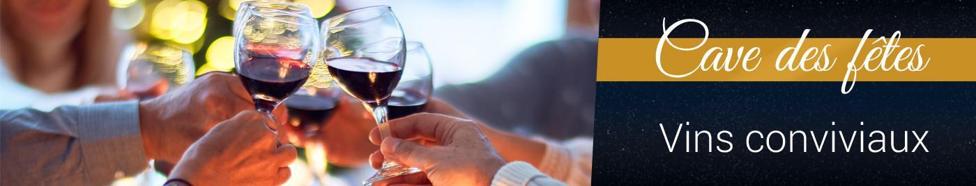 Cave des Fêtes 2020 : Vins rouges conviviaux