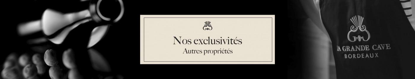 Exclusivités et Châteaux partenaires - Autres Propriétés