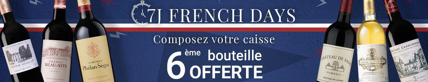 FD sélection 25€ à 50€  |  Composez votre carton de 6 bouteille = 6ème OFFERTE