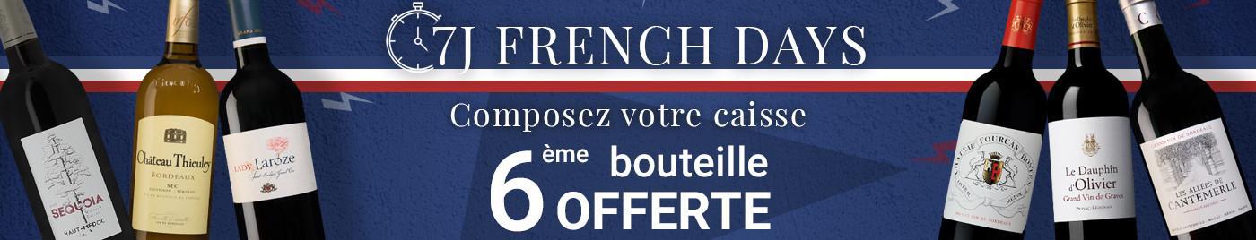 FD sélection vins à -25€  |  Composez votre carton de 6 bouteille = 6ème OFFERTE