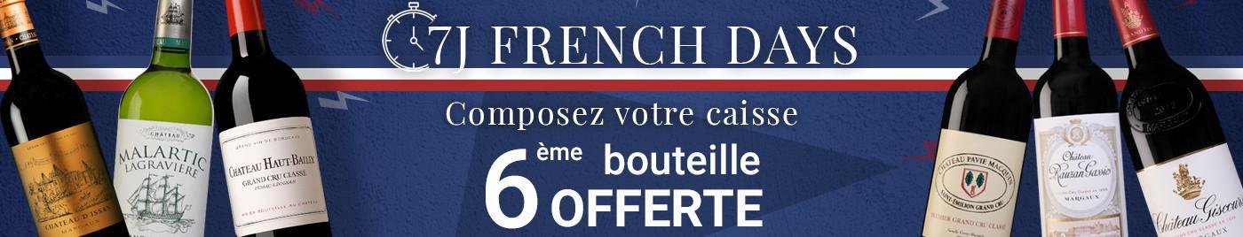 FD sélection vins à +50€  |  Composez votre carton de 6 bouteille = 6ème OFFERTE