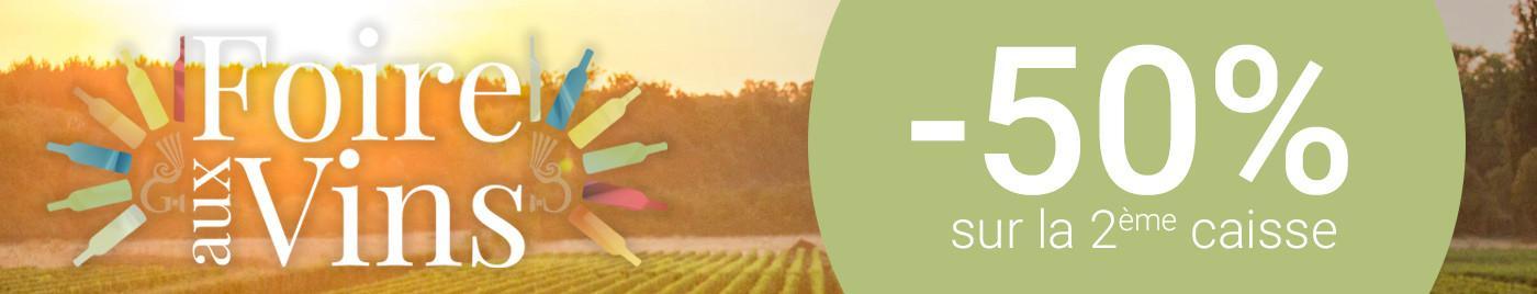 Foire aux Vins 2018 - 50%