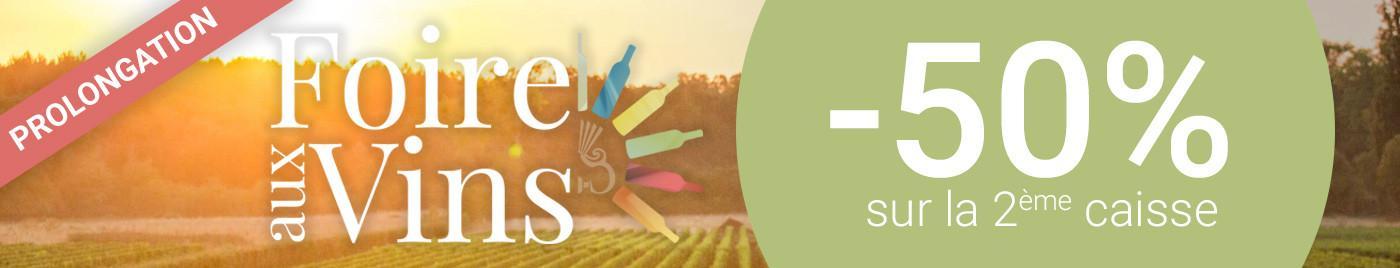Foire aux Vins 2018 - 50% - Prolongation