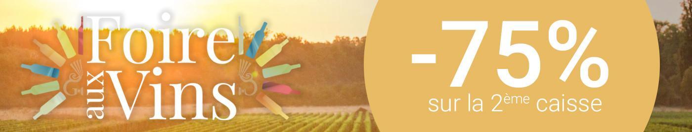 Foire aux Vins 2018 - 75%
