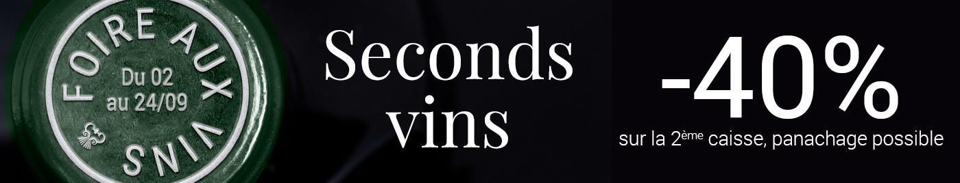 Foire aux Vins 2020 : Seconds vins à -40%