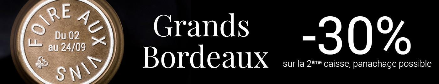Foire aux Vins 2020 : Grands Bordeaux à -30%