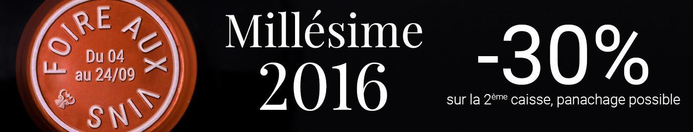 Foire aux Vins d'Automne 2019 - Spéciale millésime 2016