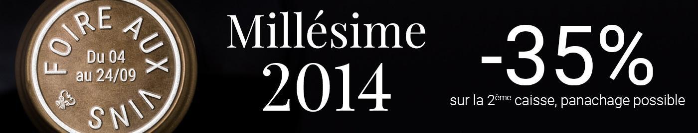 Foire aux Vins d'Automne 2019 - Spéciale millésime 2014