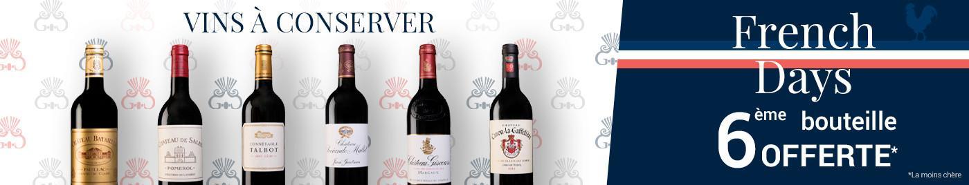 French Days | À conserver en cave = 6ème bouteille offerte