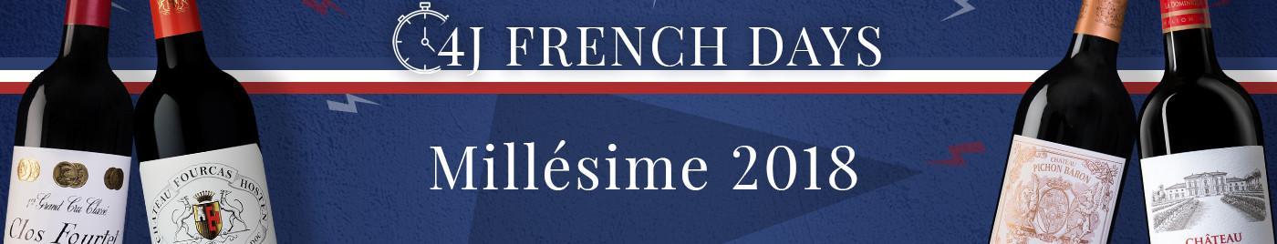 French Days de rentrée  |  Millésime 2018
