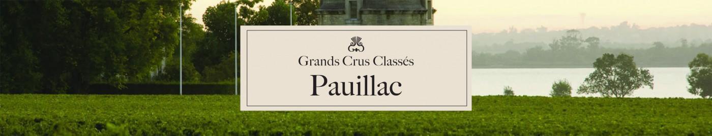 Grands Crus Classés - Appellation Pauillac