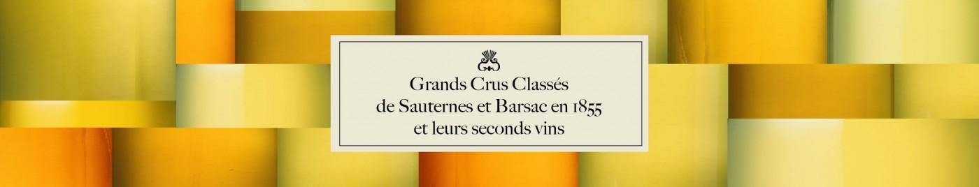 Grands Crus Classés de Sauternes et Barsac