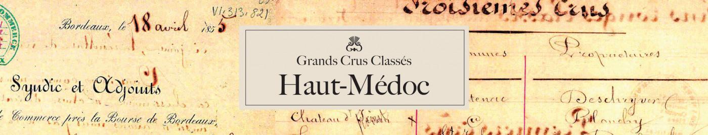 Grands Crus Classés - Appellation Haut-Médoc