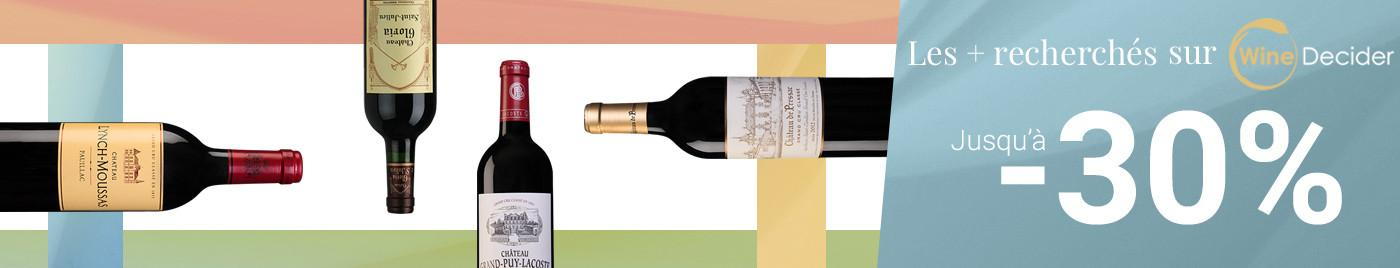 Les vins les + recherchés sur WineDecider