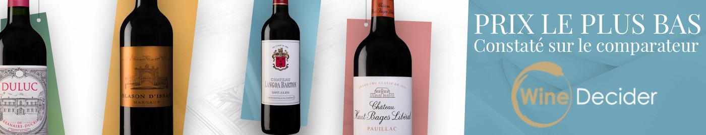 Meilleur prix selon WineDecider - Sélection août 2020