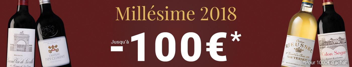 Millésime 2018 : vins à +50€