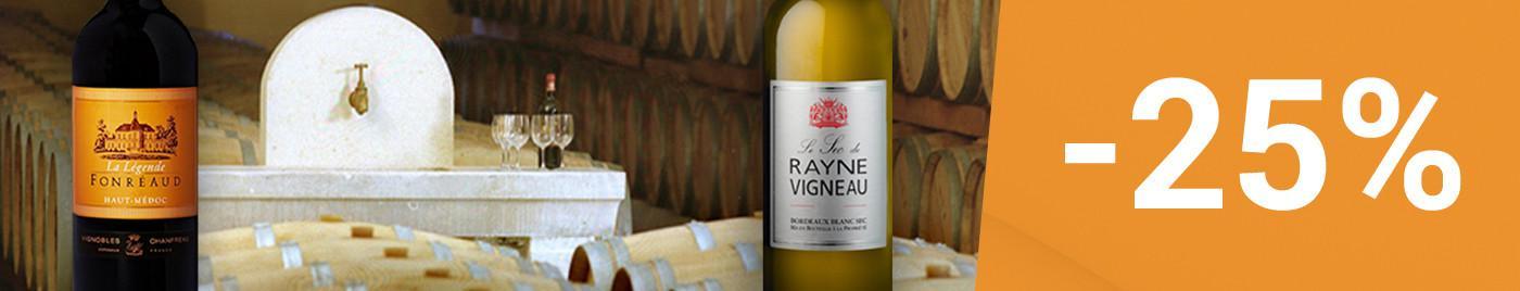 Offre Flash 48h - Légende de Fonréaud & Blanc sec de Rayne Vigneau