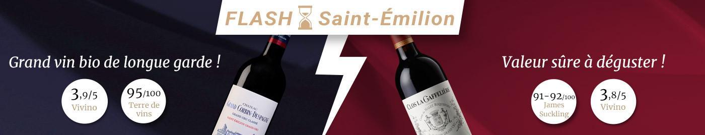 OFFRE FLASH : Battle à Saint-Émilion (match retour)