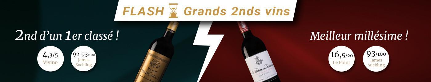 OFFRE FLASH : Battle de Grands 2nds vins du millésime 2015