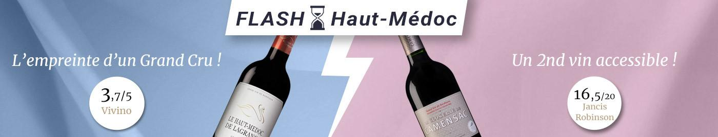 OFFRE FLASH : Battle en appellation Haut-Médoc (match retour)