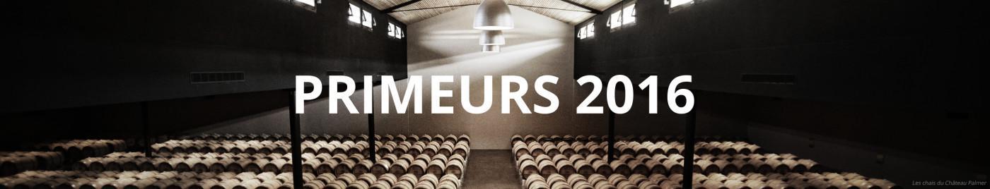 Vins de Bordeaux en Primeurs 2016