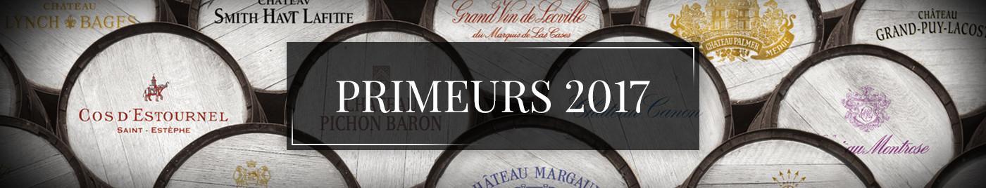 Vins de Bordeaux en Primeurs 2017