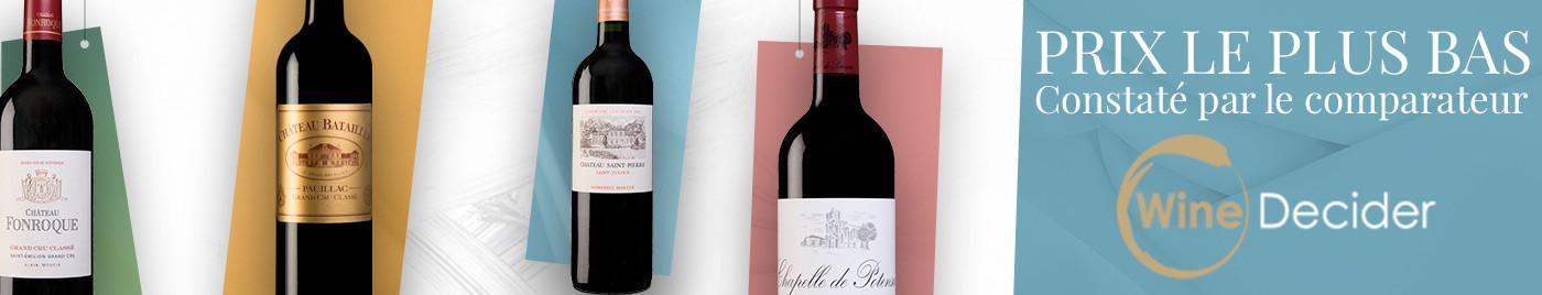 Prix le plus bas sur Winedecider,  comparateur de prix spécialisé en vin