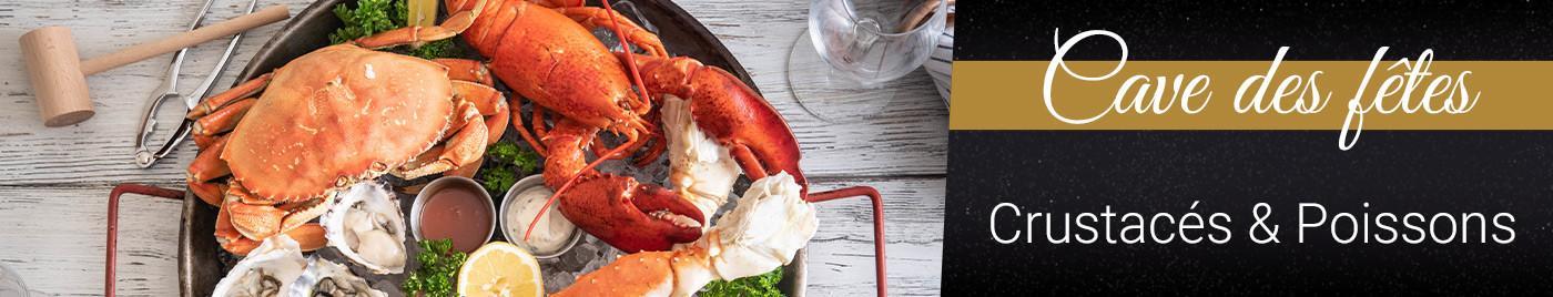 Repas des Fêtes : Crustacés & Poissons