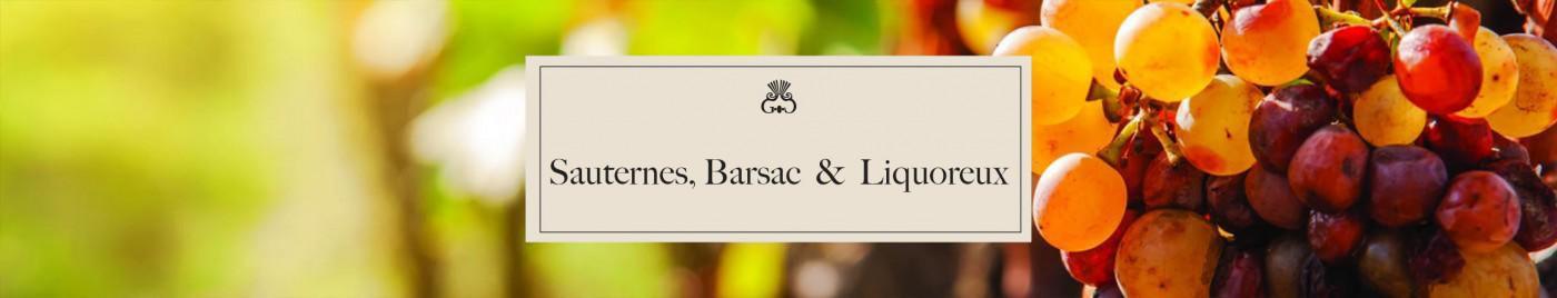Sauternes, Barsac et liquoreux
