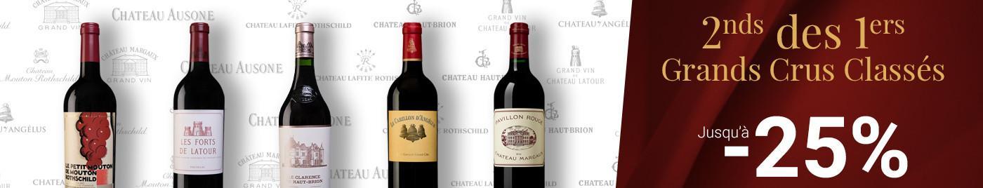 Seconds vins des Premiers Grands Crus Classés