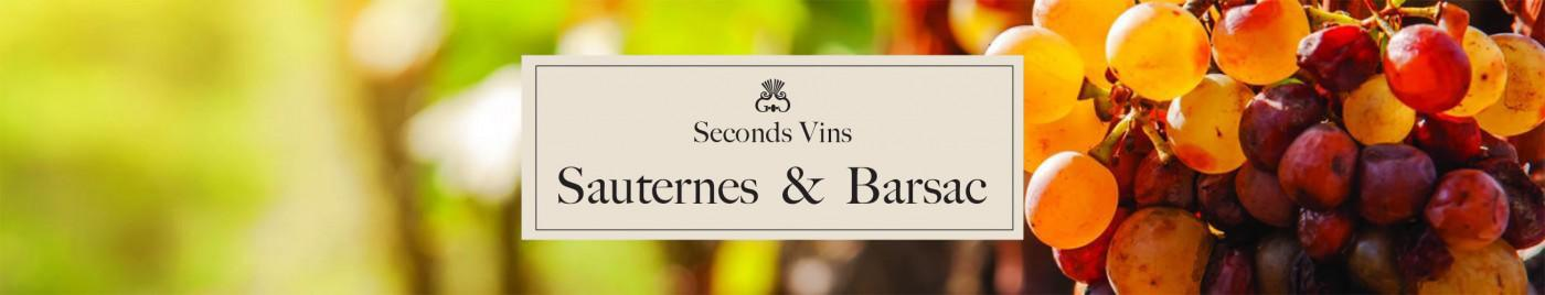 Seconds Vins - Sauternes et Barsac