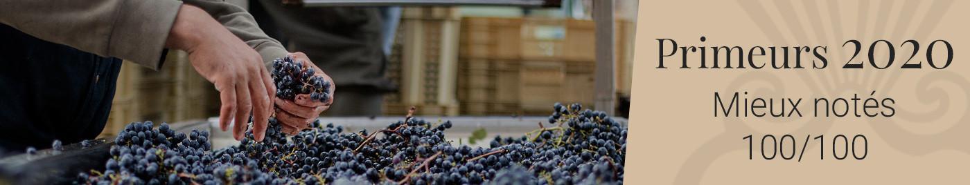 Vins de Bordeaux en Primeurs 2020   Mieux notés 100/100