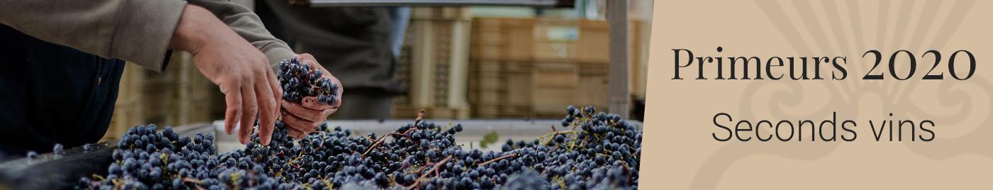 Vins de Bordeaux en Primeurs 2020   Seconds vins