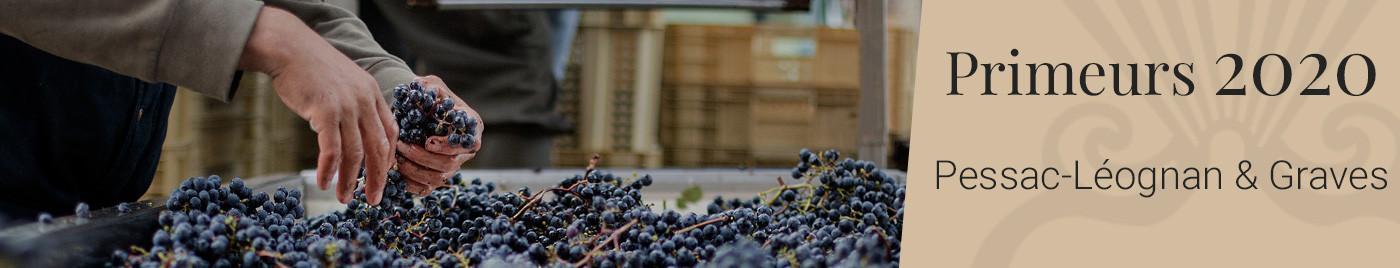 Vins de Bordeaux en Primeurs 2020     Appellation Pessac-Léognan + Graves rouge et blanc