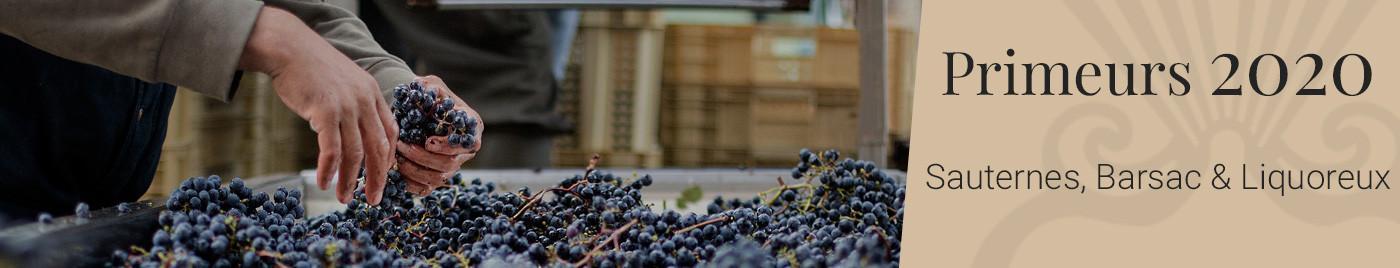 Vins de Bordeaux en Primeurs 2020     Appellations Sauternes + Barsac